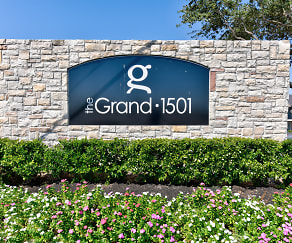 Community Signage, The Grand 1501 Apartments