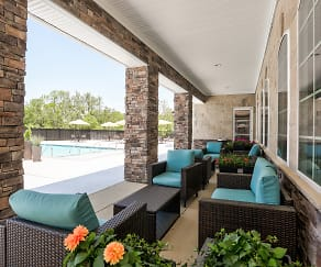 Patio / Deck, The Pointe At Five Oaks