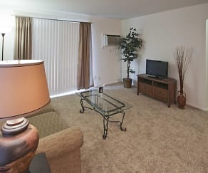 Living Room, Southwind Apartments