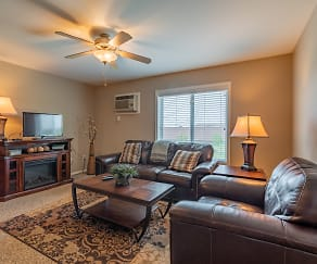 Living Room, Silver Waters 55+ Community