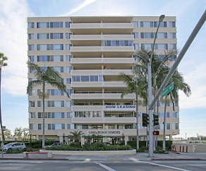 Building, Long Beach Towers
