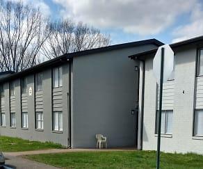 Building, Grey Parc Apartments