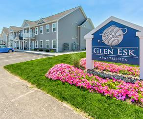 Community Signage, Glen Esk Apartments