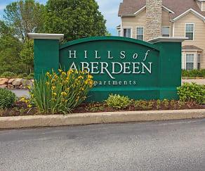 Community Signage, Hills Of Aberdeen