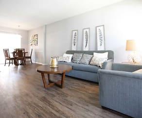 Living Room, The Villas at Stone Creek