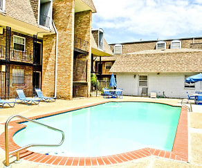 Pool, Belle Oak Apartments