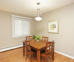Dining Room, Granite Ridge Apartments