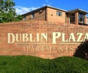 Community Signage, Dublin Plaza