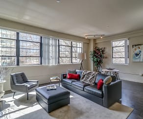 Living Room, 1321 Lofts