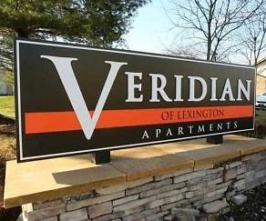 Community Signage, Veridian of Lexington