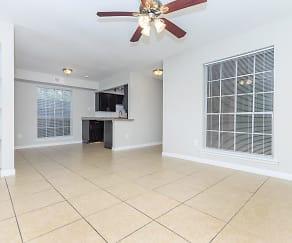Living Room, Residence at Garden Oaks