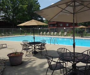 Pool, Riverwood Apartments