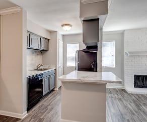 Kitchen, The Edison Apartments