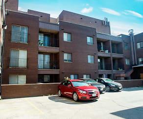 Building, 408 E. Green Apartments