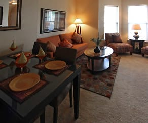 Dining Room, Mansions at Technology Park
