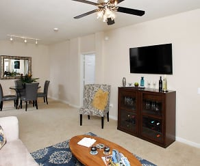 Living Room, Mckenzie at Natomas Park