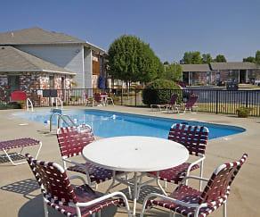 Pool, Grandview Village Apartments