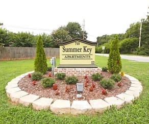 Community Signage, Summer Key