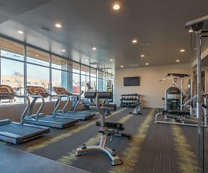 Fitness Weight Room, Moda Bonneville