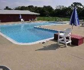 Pool, Oak Ridge Park Apartments