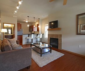 Living Room, Murray Glen Townhomes