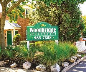 Community Signage, Woodbridge Apartments