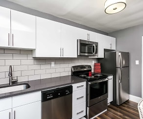 Kitchen, SilverBrick Townhomes