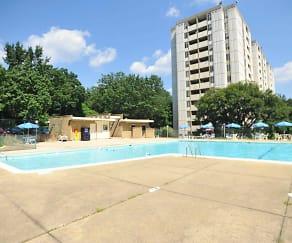 Pool, Belford Towers