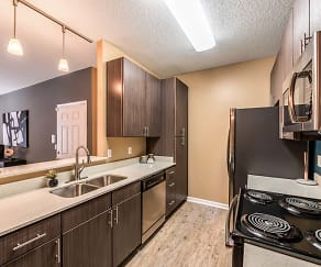 Kitchen, Canebrake Apartments