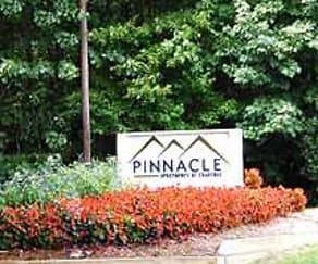 Community Signage, Pinnacle Apartments