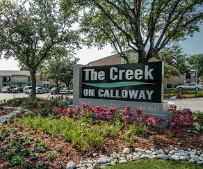 Community Signage, The Creek on Calloway