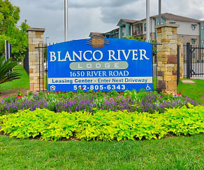 Welcome Home, Blanco River Lodge
