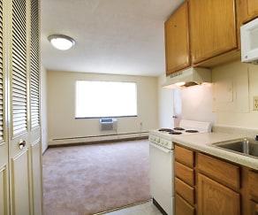 Kitchen, Loring Towers