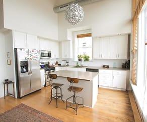 Kitchen, JR Barrington Building