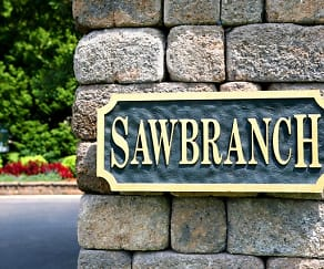Community Signage, Sawbranch Apartments