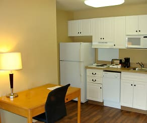 Kitchen, Furnished Studio - San Jose - Airport