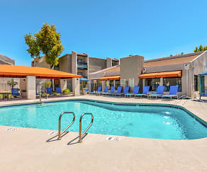 Pool, Stonegate Furnished Apartments