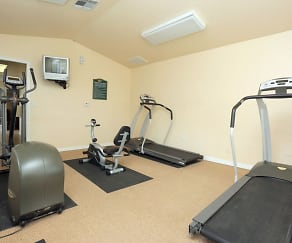 Fitness Weight Room, Chapel Ridge of Springdale