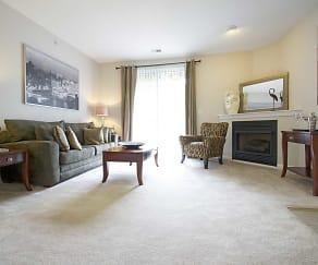 Living Room, Ventana Hills Apartments