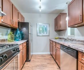 Kitchen, Woodlake Apartment Homes