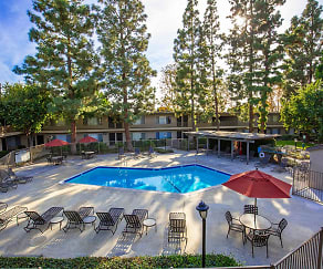 Pool, Saddleback Pines Apartment Homes