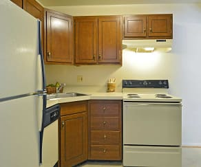 Kitchen, Oakleigh Apartments