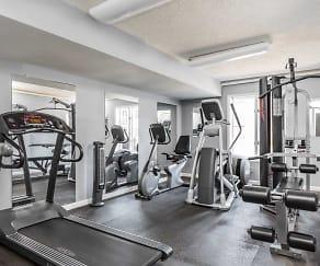 Fitness Weight Room, Regency Club