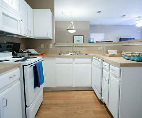 Kitchen, Coursey Place Apartment Homes