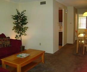 Dining Room, Cabana Club Apartments