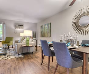 Dining Room, Woodlake Apartment Homes