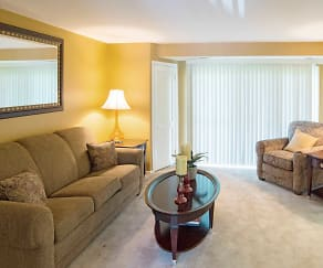 Living Room, Security Park Apartments