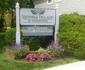 Community Signage, Victoria Village Apartments