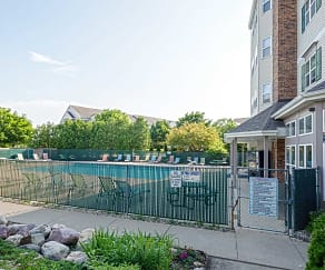 Pool, Maple Grove Apartments