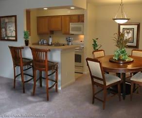 Kitchen, Castle Club Apartments